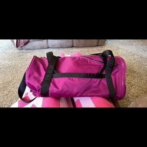 lululemon athletica Bags - Run Ways Duffle Regal Plum